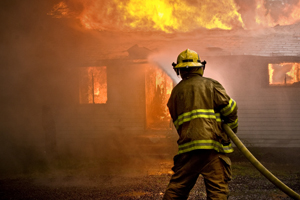 Fireman Hose Water Home