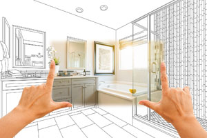 Remodeling Construction Plans Bath Bathroom